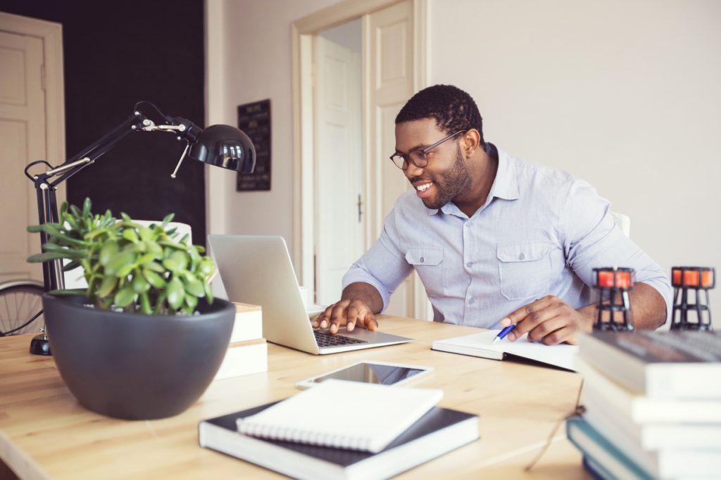 Marketing de conteúdo em home-office